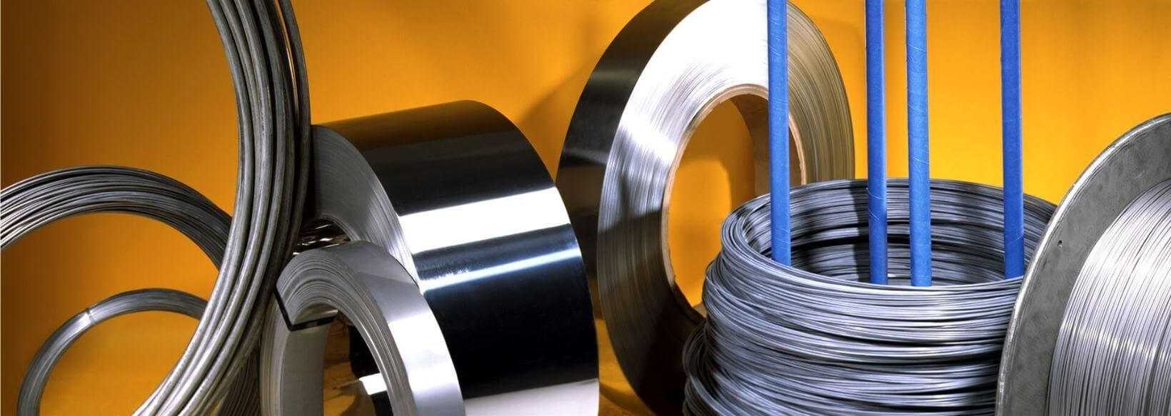 Standard and Custom Specialty Metals & Alloys Including High Performance Alloy Strip & Wire
